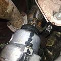 Changement du joint d'entrée du boitier hydraulique de direction (suite)