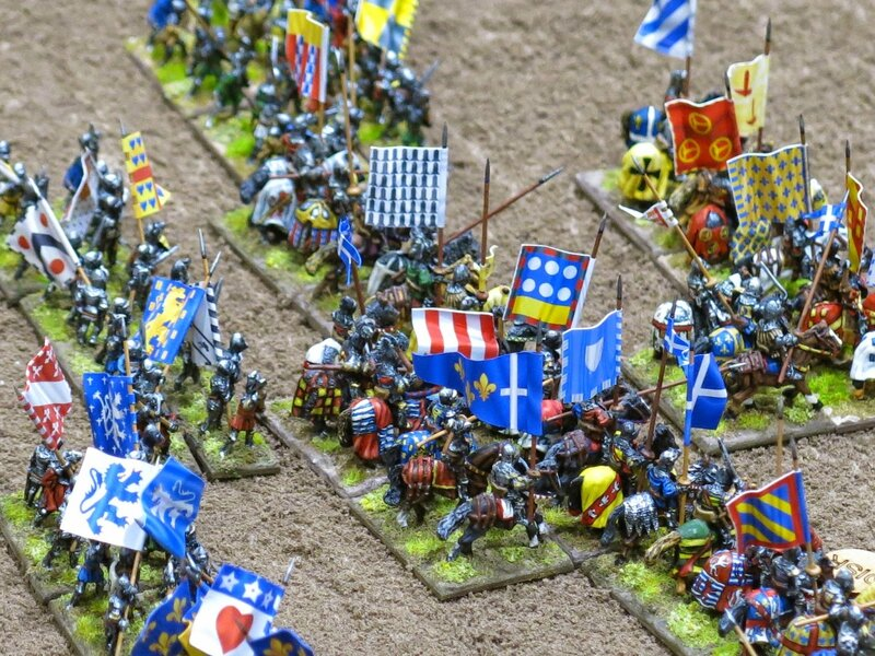 Donnington Miniatures - Battle of Agincourt - 15mm