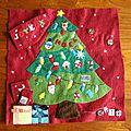 Quiel book page 10 : noël - christmas