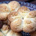 Petits sablés à la presse à biscuits - recette de martha stewart