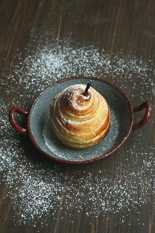 Poire feuilletée - Passion culinaire 1