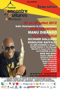 rencontres des cultures Avranches 2012 Manu Dibango Richard Galliano