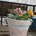 Une seconde vie pour mes pots de fleures