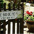 Jardin + maison à ossature bois + volailles de races = une belle sortie !