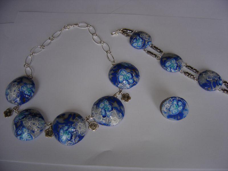 parure bleu lagon