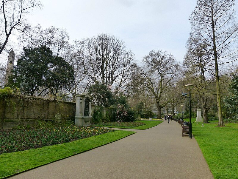 the victoria embankment gardens