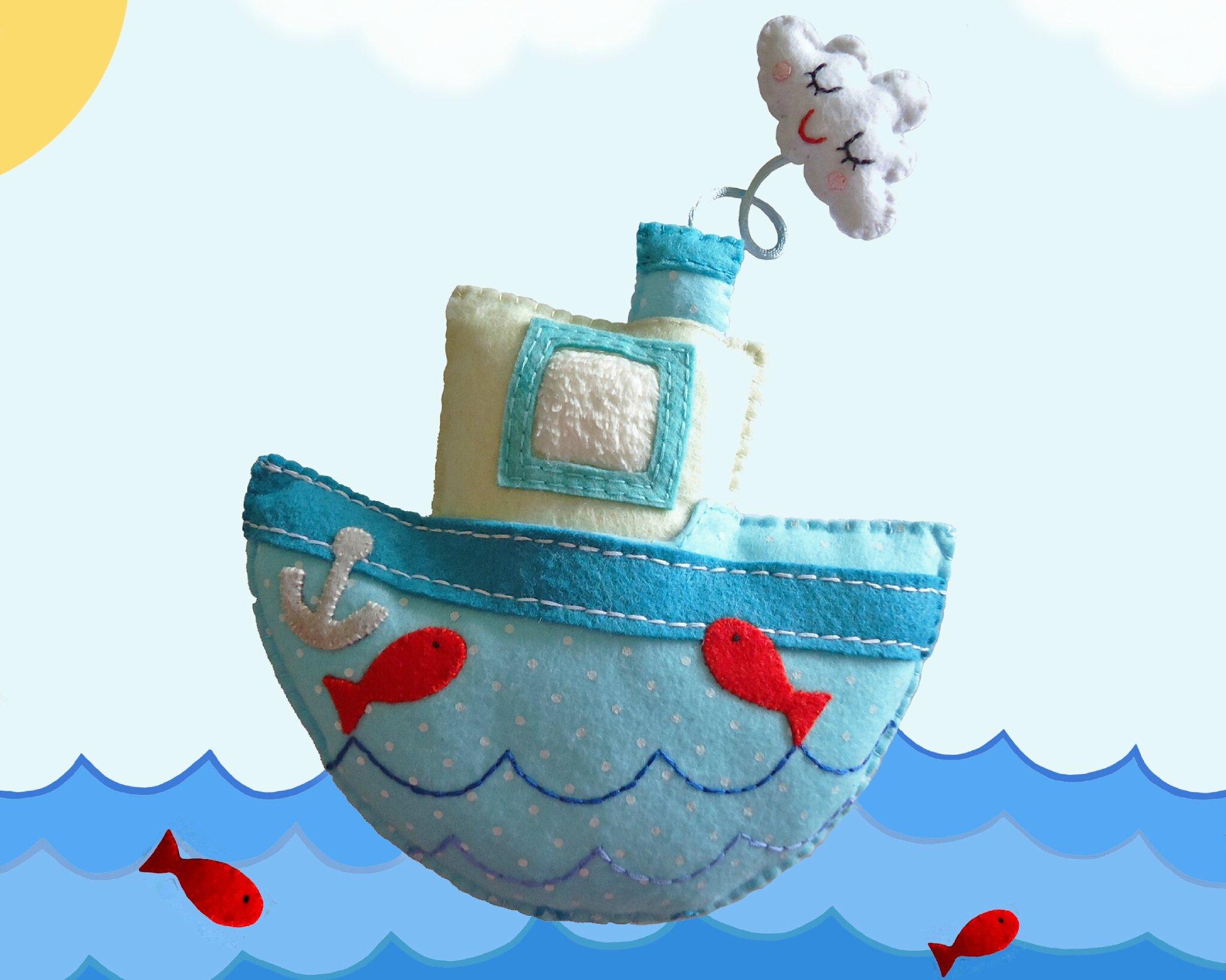 doudou bateau sur l'eau 3