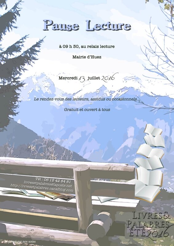 RV pause lectures juillet 2016-2