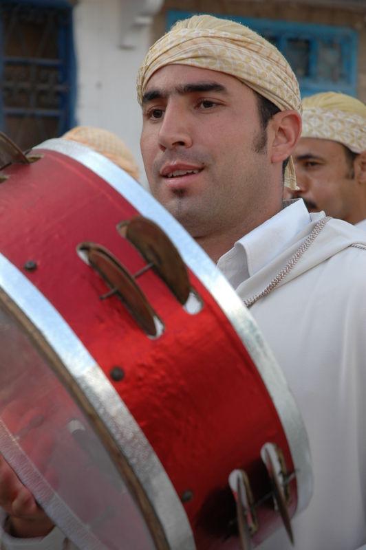 Parade d'ouverture du festival Gnaoua d'Es saouira.