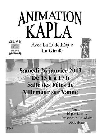 Affiche Kapla