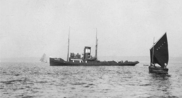 Le remorqueur Seefalke