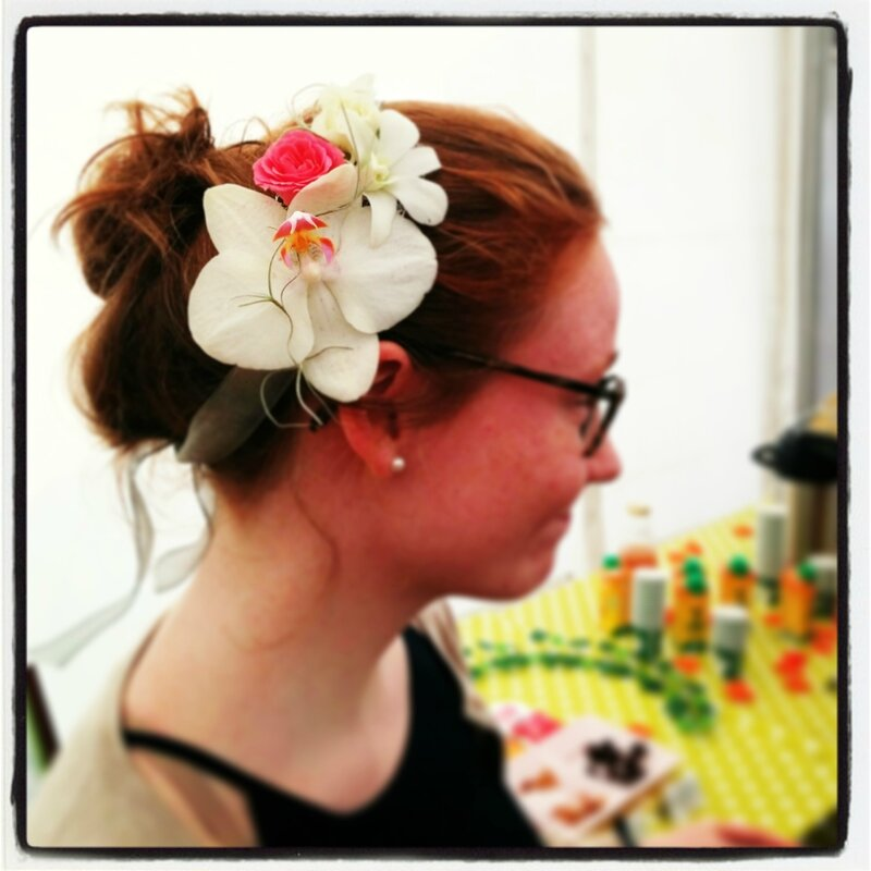 Headband de Fleurs