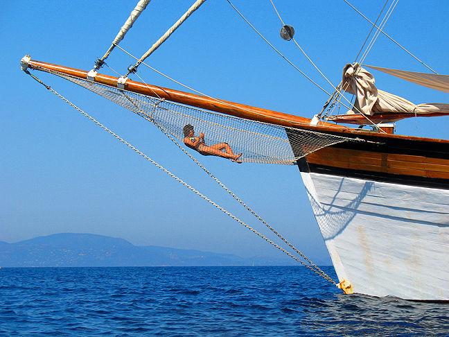 Port-Cros: pêche à la crevette