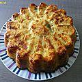 Gâteau salé de pommes de terre râpées