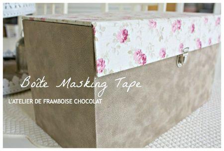 Boîte Masking Tape