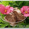 Crème glacée pralinée