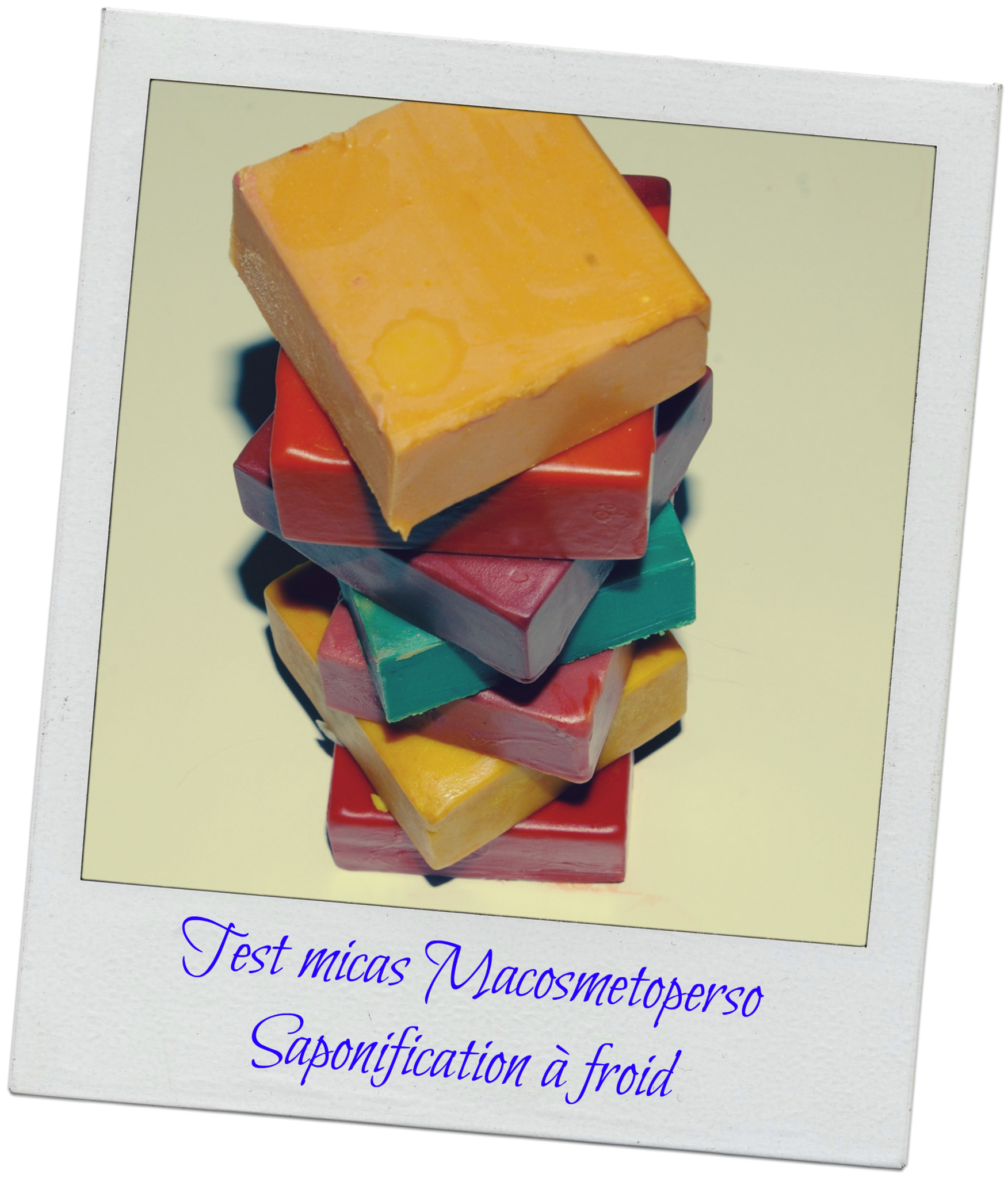 Test Micas Macosmetoperso (saponification à froid)