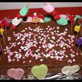 C'est dimanche ...gâteau d'anniversaire