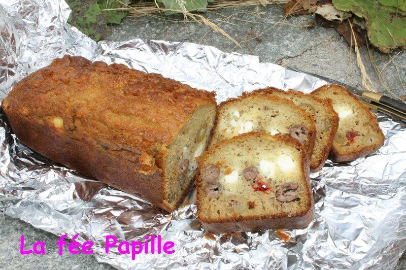 cake feta olives