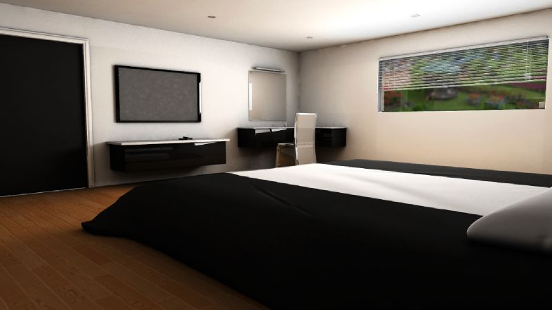 d coration chambre parentale design. Black Bedroom Furniture Sets. Home Design Ideas