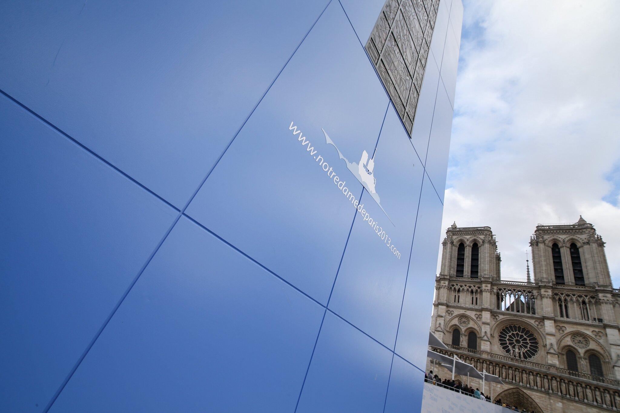 Un chemin du Jubilé pour les 850 ans de la cathédrale Notre-Dame de Paris. © Michel Stoupak. Mar 25.12.2012, 16:02.