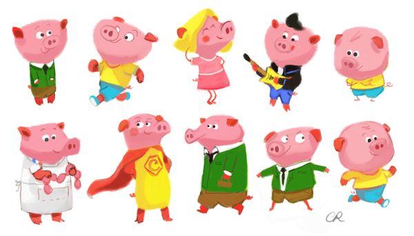page cochon
