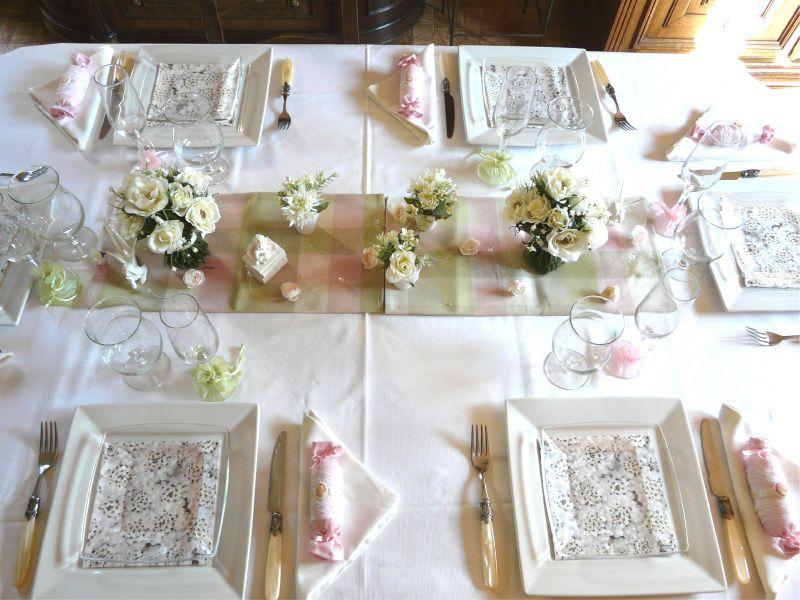 Table tulipes deco de tables - Deco table printemps ...