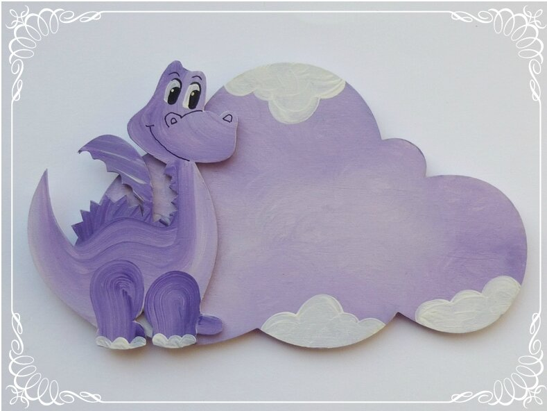 plaque dragon