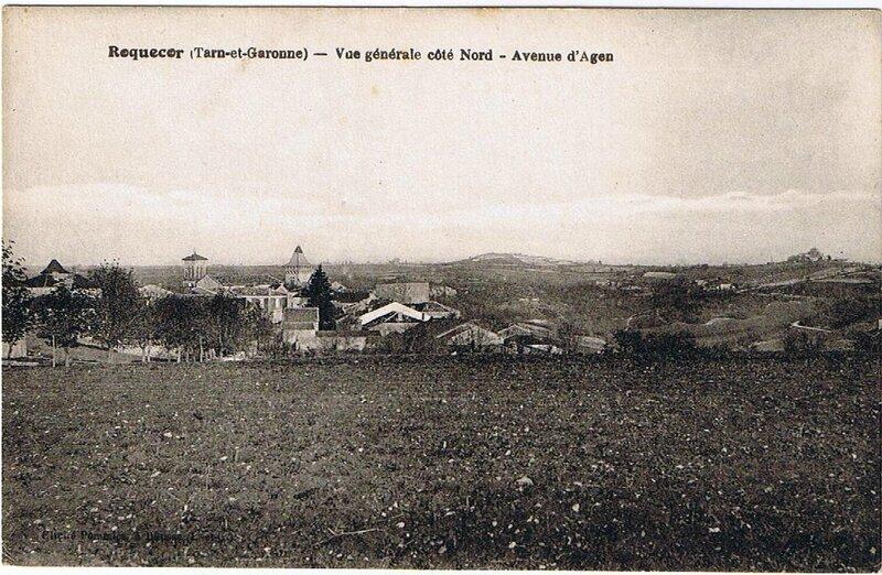 Roquecor (Tarn-et-Garonne) - Vue générale côté Nord - Avenue d'Agen