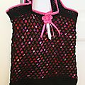 Sac filet au crochet, le tuto