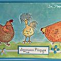 Les poulettes . . .