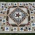 Les Caqueteuses Isa Country Quilt
