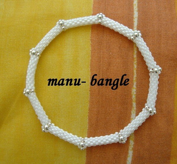 bangle bianco