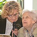 Marthe pirlot centenaire de villers