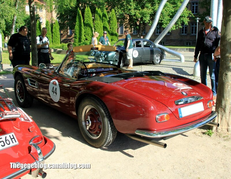 Bmw 507 convertible de 1957 (254ex)(Paul Pietsch Classic 2014) 02