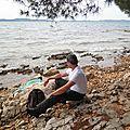 CR - pause dejeuner près zadar