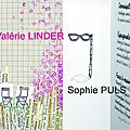 Exposition du 7 septembre au 14 octobre : Valrie Linder, Sophie Puls et Mona Luison.