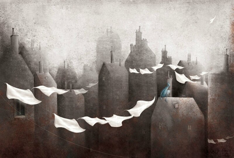 Gabriel Pacheco 1973 - Mexican Surrealist Visionary painter - Tutt'Art@ (41)