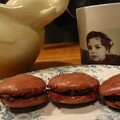 Macarons au chocolat...russis!!!!