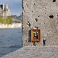 Street art miniature
