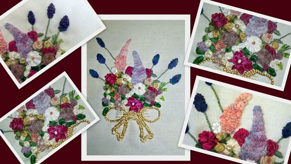 montage broderie