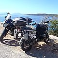 grece lefkas bain de soleil