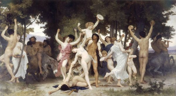 The Youth of Bacchus - 1884 - William-Adolphe Bouguereau