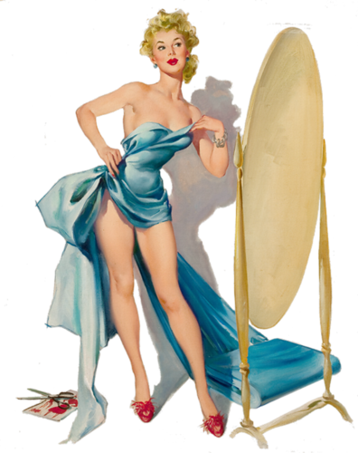 TUBS en PNG Pin-Up