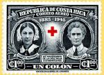 Timbre Costa Rica 1945 Edith Cavell