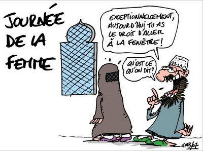 """Résultat de recherche d'images pour """"caricatures du 8 mars de la femme libre"""""""
