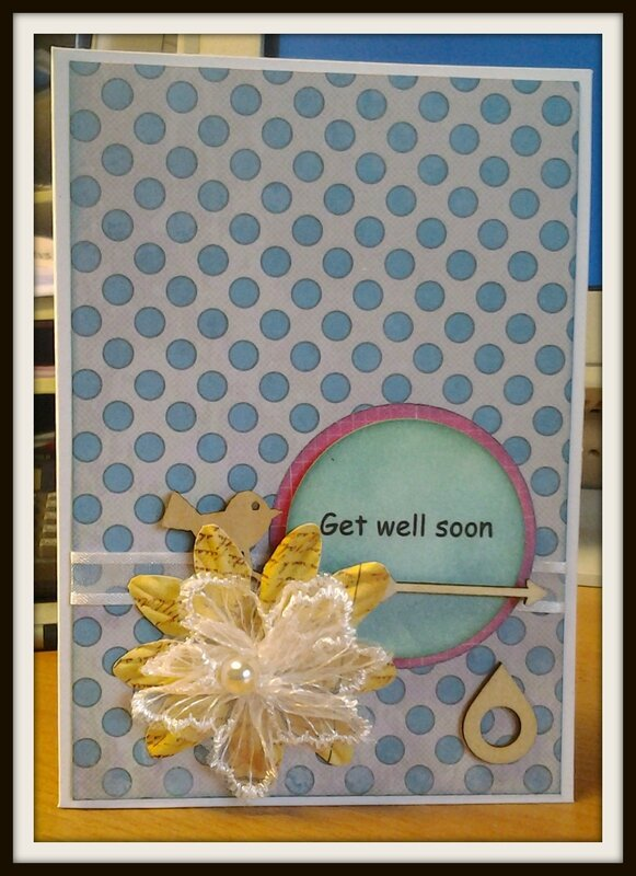 Get well soon Marie