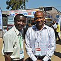 Avec le patron de Musal Communications, Costa Coscaris, lors du Katanga Business Meeting. Juin 2014