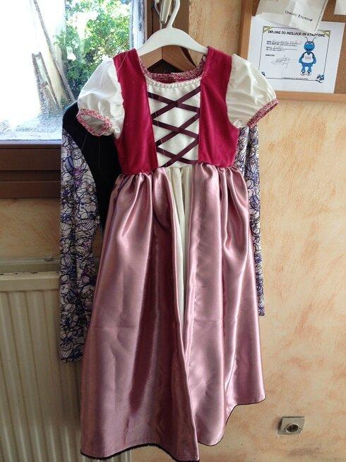 raiponce robe
