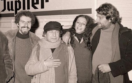 Hiver 60-Th Michel, Franz Buyens, Ch Pireaux et Robbe de Hert